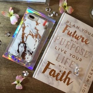 Rose Gold Marble case for iPhone 6/7/8 plus